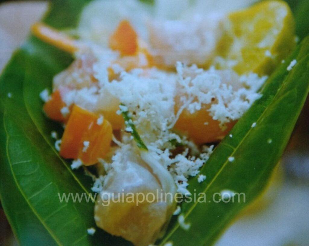comida de polinesia francesa