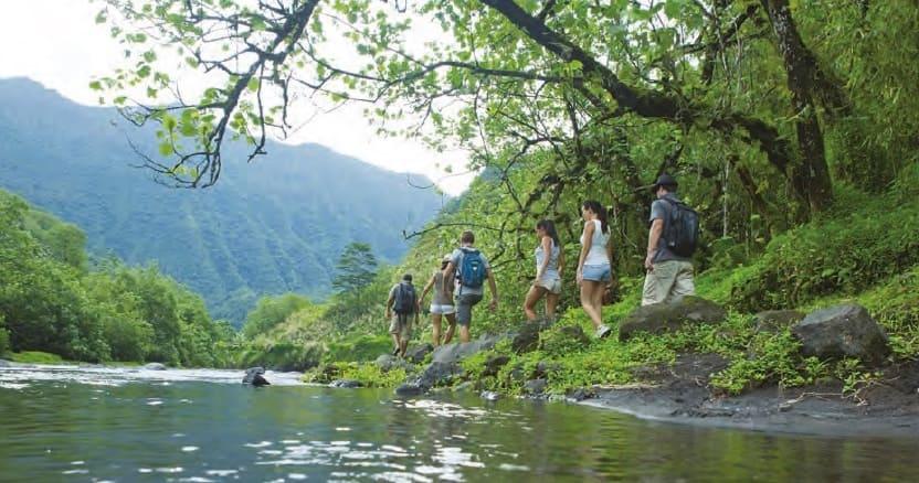 excursión en tahití