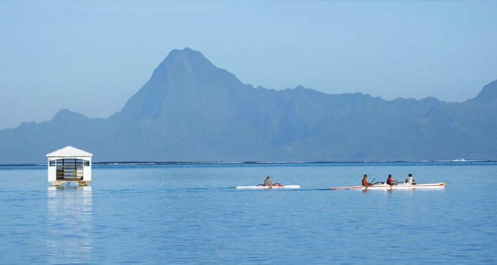 Piragüismo en tahití