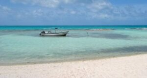 playa tereia en maupiti